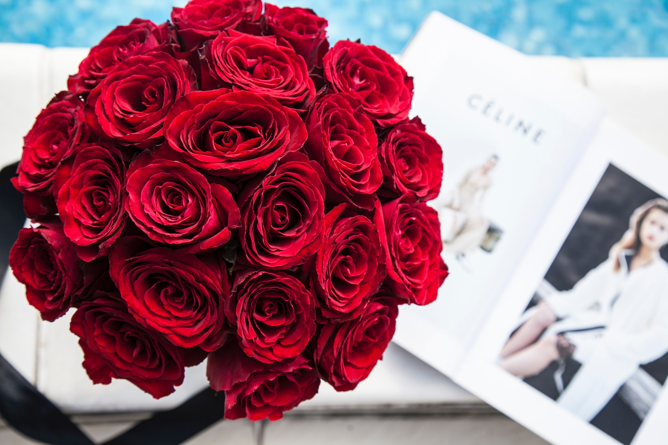 Cvece - Crveni ruze u kutiji